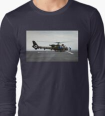 French Aérospatiale Gazelle Attack Helicopter Long Sleeve T-Shirt