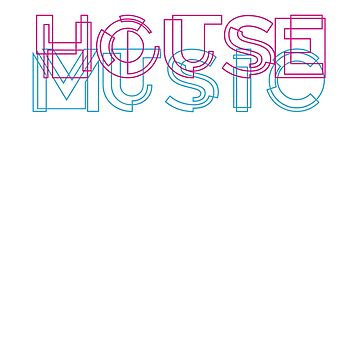 House Music - Cool Style typography by Jockeybox