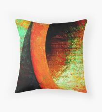 Fight of the rusty colors Throw Pillow
