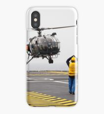 French Aérospatiale Alouette III Helicopter iPhone Case/Skin