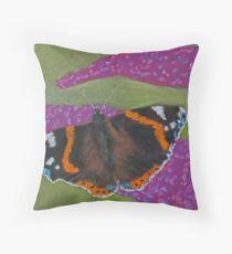Buddleia Beauty Throw Pillow