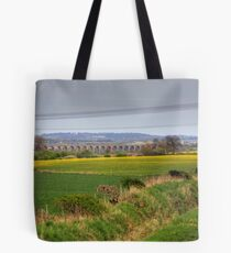 Almond Viaduct Tote Bag