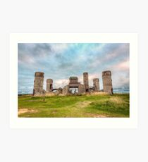 Old Stone Castle, France Art Print