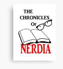 The Chronicles Of Nerdia Canvas Print