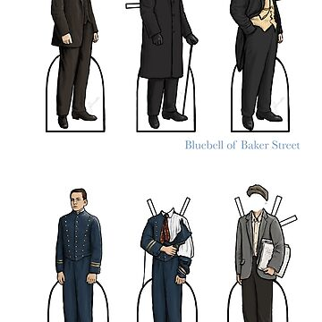Gillette Holmes: Dr. Watson y Billy de bluebell42
