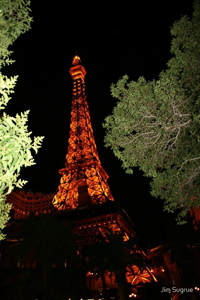 Eiffel Tower by Jim Sugrue
