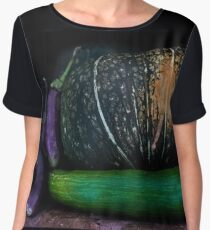 Mixed Vegetables Women's Chiffon Top
