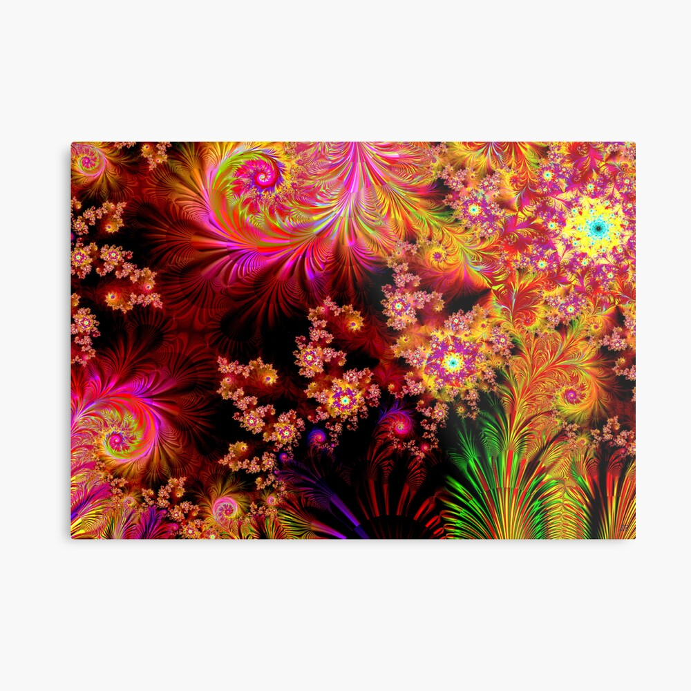 The Colours of Nature Metal Print