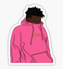 Kevin Abstract American Boyfriend sticker Sticker