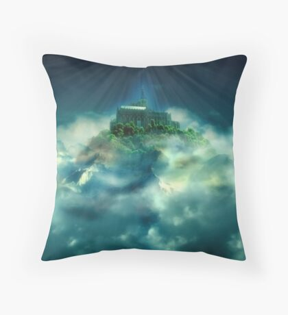 In My Father's House Throw Pillow