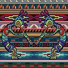 Kokopelli Art by Walter Colvin