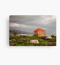 Ancient Ruins Byblos Lebanon Canvas Print