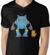 Funny Rocket Science Kitten Robot Cute Fun Cat  T-Shirt