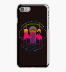 CONSULTING DETECTIVE & TIME TRAVEL INVESTIGATOR RAINBOW VERSION iPhone Case/Skin