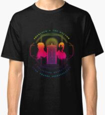 CONSULTING DETECTIVE & TIME TRAVEL INVESTIGATOR RAINBOW VERSION Classic T-Shirt