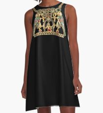 Falcons, Cobras, Pharaohs  A-Line Dress