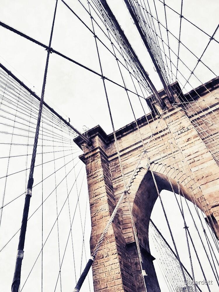 Brooklyn bridge by Underdott