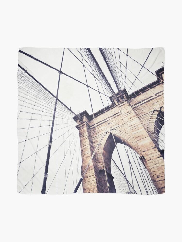 Alternate view of Brooklyn bridge Scarf