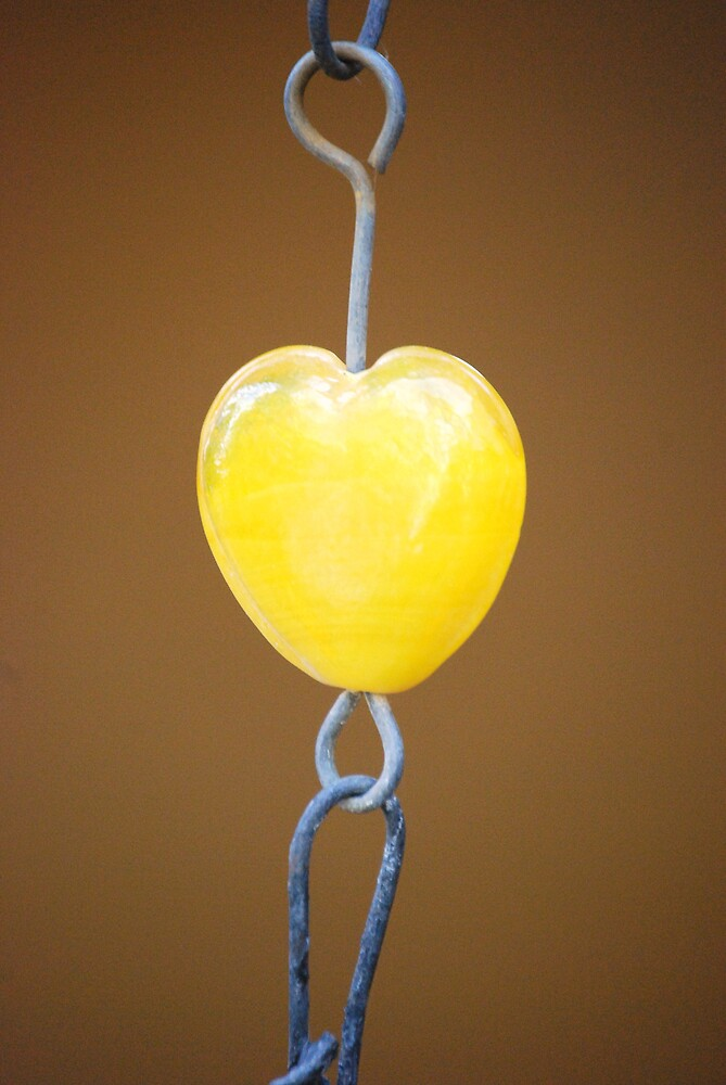 Yellow Heart by marycloch