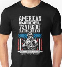 72 Virgin dating service t-shirt
