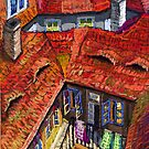 Prague roofs 1 by Yuriy Shevchuk
