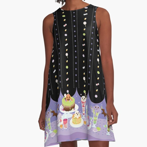 Spooky Party A-Line Dress