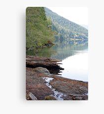 """Lake Crescent Shoreline"" Canvas Print"