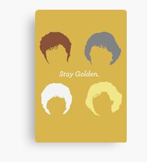 """The Girls // """"Stay Golden"""" Canvas Print"""