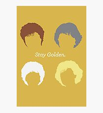 "The Girls // ""Stay Golden"" Photographic Print"