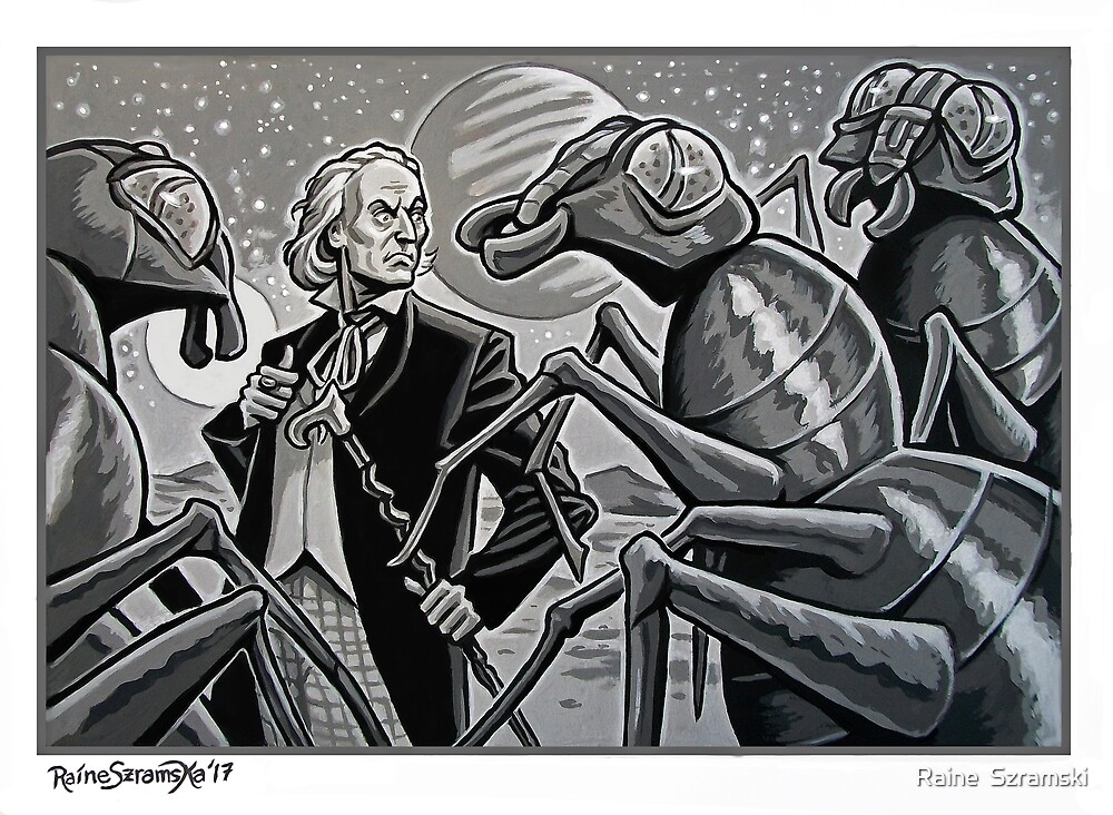 The First Doctor and the Zarbi by Raine  Szramski