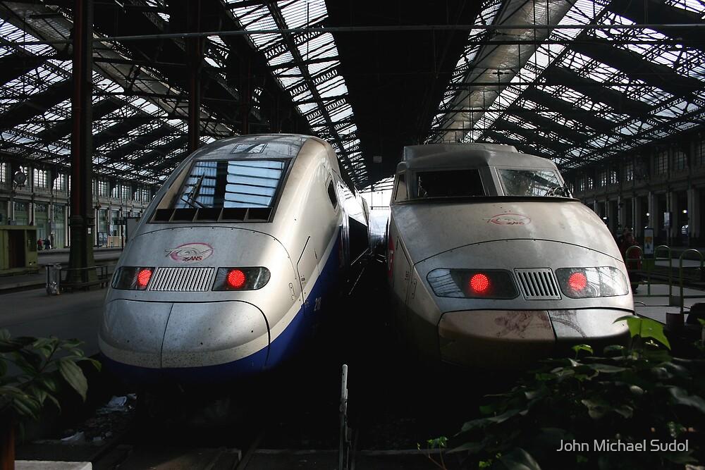 TGV x 2 by John Michael Sudol