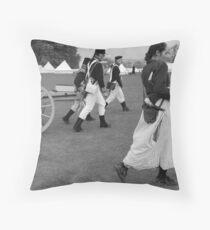 French Guns and Spanish Guerillas Throw Pillow