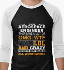 AEROSPACE ENGINEER BEST COLLECTION 2017 Men's Baseball ¾ T-Shirt