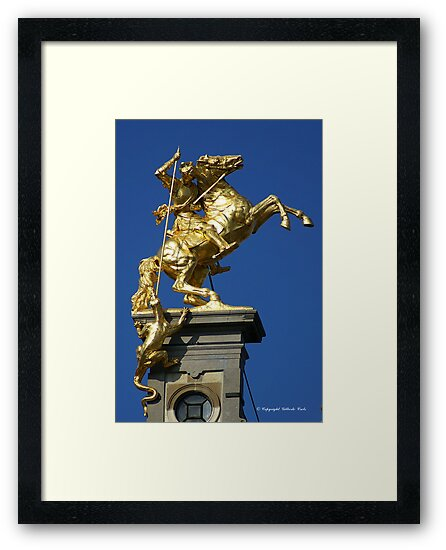 St George and the Dragon by Gilberte