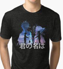 your name Tri-blend T-Shirt