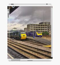The Old and New Order at Temple Meads  iPad Case/Skin