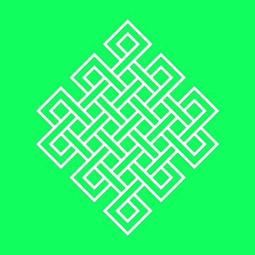 Buddhist Endless Knot by vectoria
