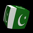 Pakistan  Flag cubed. by stuwdamdorp