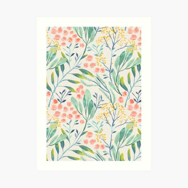 Botanical Garden Art Print