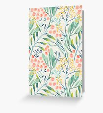 Botanical Garden Greeting Card