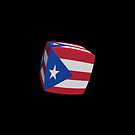 Puerto Rico Flag cubed. by stuwdamdorp