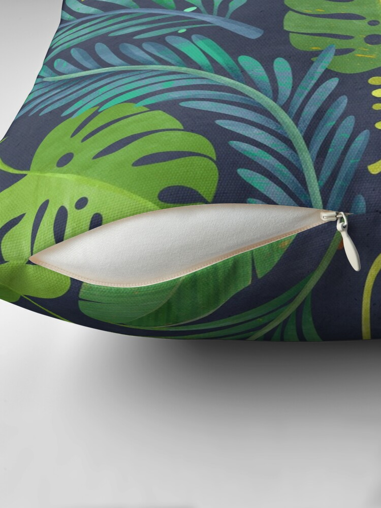 Alternate view of Rain Forest Throw Pillow