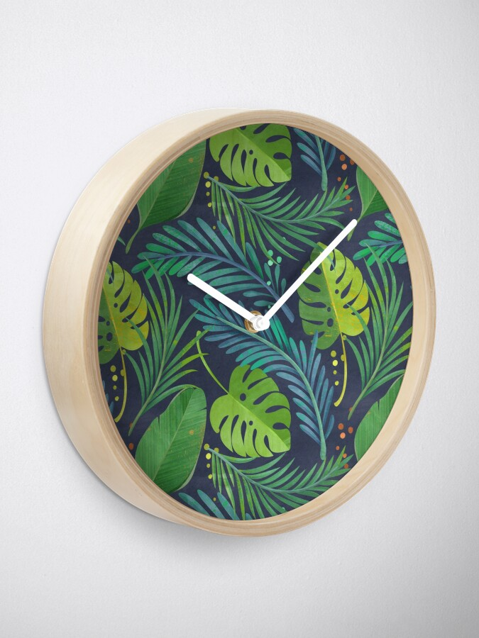 Alternate view of Rain Forest Clock