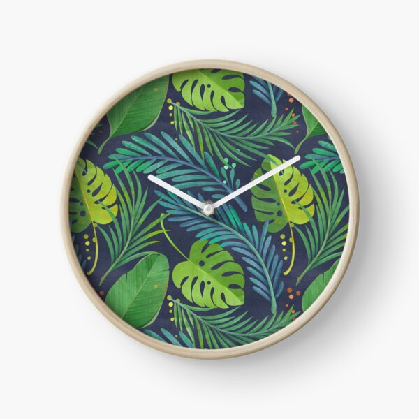 Rain Forest Clock