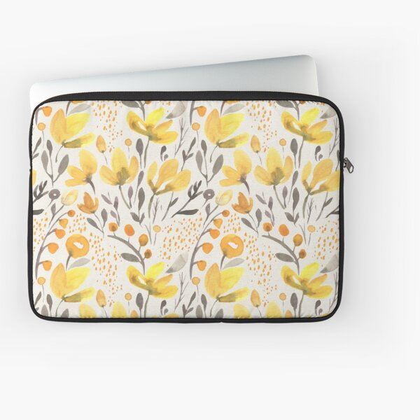 Yellow field Laptop Sleeve