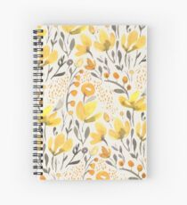 Yellow field Spiral Notebook