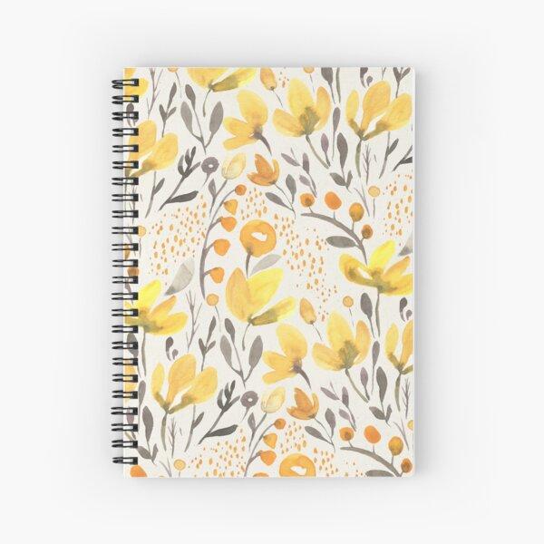 Yellow field Spiral Notebook