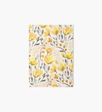 Yellow field Art Board