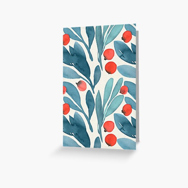 Winterberries Greeting Card