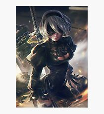 Nier Automata Sword Photographic Print